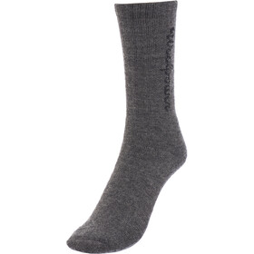Woolpower 400 Calcetines con logotipo, grey